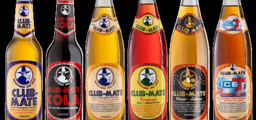 Alle Sorten von Club Mate