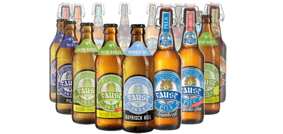 Faust Bierflaschen